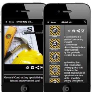 construction company mobile app