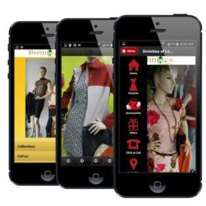 women fashion mobile app