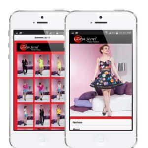 designer wear mobile app