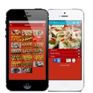 Sadaka oriental patisserie mobile app