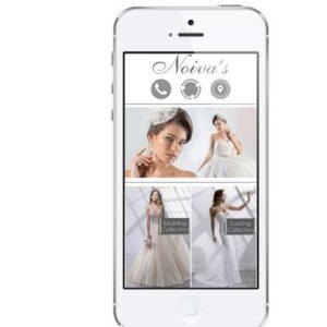 Noivas bridal dresses mobile app development lebanon