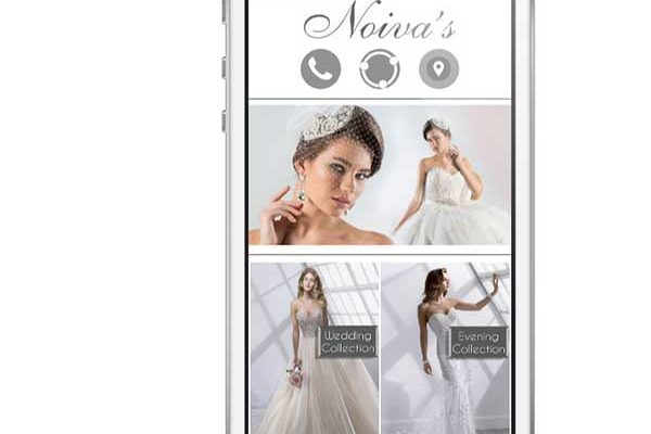 Noivas bridal dresses mobile app development lebanon