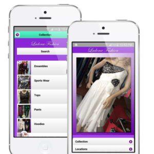 ladona fashion mobile app